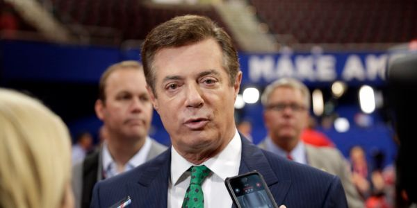 Trump says jailing of his former campaign chairman Paul Manafort is 'very unfair' and asks, 'What about Comey and Crooked Hillary?'