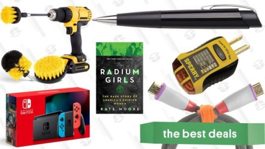 Sunday's Best Deals: Kindle Books, Nintendo Switch, Drill Brush, Velcro Cable Ties, And More