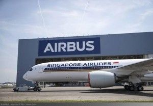First Ultra Long Range A350 XWB Rolls Out Of Paintshop