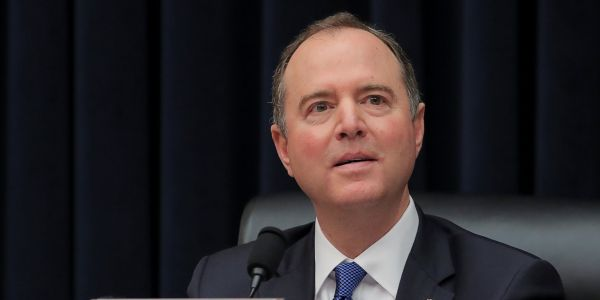 Adam Schiff responds to Trump's calls to resign with a blistering 5-minute speech on the president and Russia