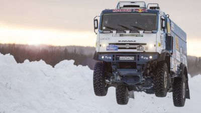 Take A Closer Look At How A 23,000 Pound Truck Gets Air