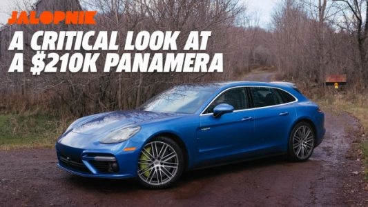 The Pettiest Imperfections in the Brilliant $210,000 Porsche Panamera Turbo S E-Hybrid Sport Turismo