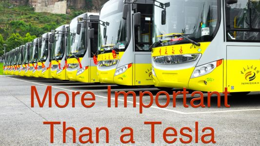 Why Electric Buses Are Far More Important Than Teslas