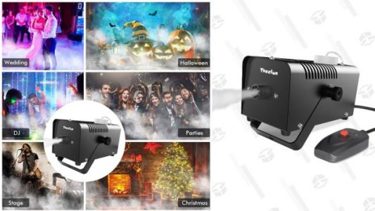 Kick Your Halloween Decorations Up a Notch With a $28 Fog Machine