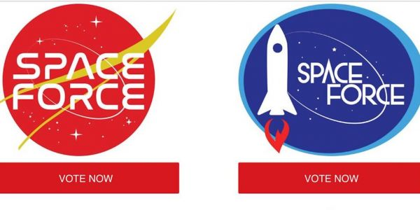 'Mars Awaits': Trump campaign asks supporters to vote for a 'Space Force' logo