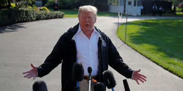 Trump says it's 'very hard for me to imagine anything happened' between Brett Kavanaugh and Christine Blasey Ford