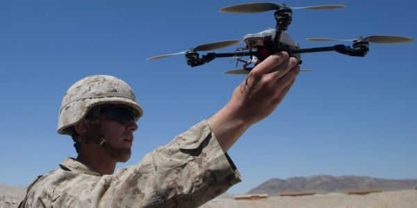 The Pentagon quietly barred Marines from flying their quadcopters