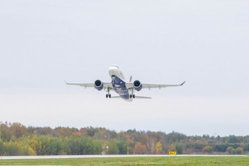 Delta's first A220 takes milestone test flight