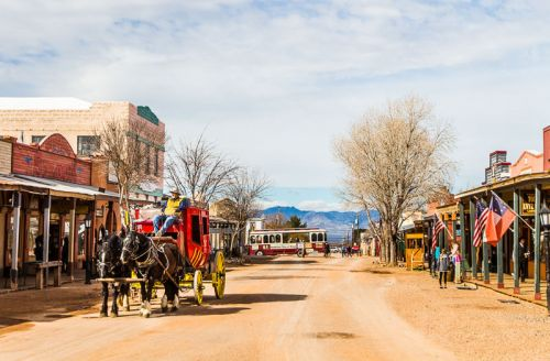 Welcome to the Land of Lawlessness - Tombstone Arizona