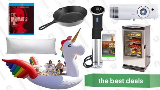 Saturday's Best Deals: Anova Sous Vide Cooker, Projector, Electric Smoker, and More
