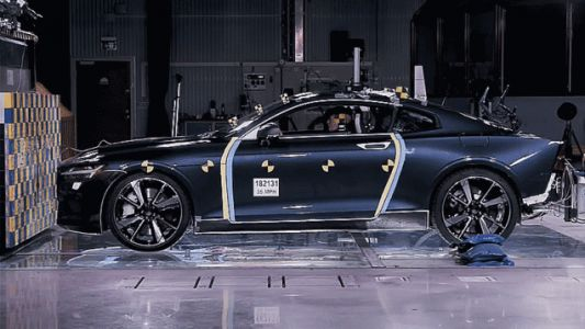 The Polestar 1 Crash Test Proves What Volvo Can Do With Carbon Fiber