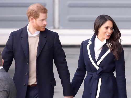 Meghan Markle and Prince Harry wore perfectly coordinating outfits for their first public appearance after the royal wedding