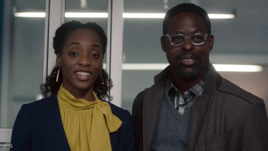 It takes 3 hours for 'This is Us' star Sterling K. Brown to get his makeup done for flash-forward scenes