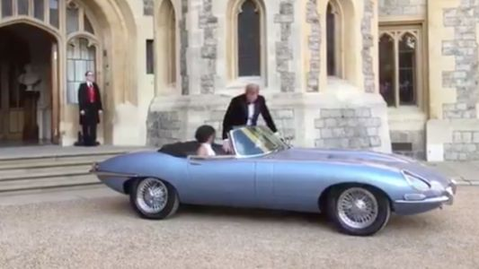 The Best Part Of The Royal Wedding Is Definitely This Jaguar E-Type Concept Zero