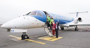 Bristol Airport and Flybmi Sponsor Santa Run