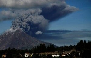 Mount Merapi in Indonesia erupts, airports closes and flights cancelled