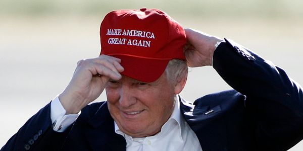 Trump's famous 'Make America Great Again' hats could get caught in the crossfire of the US-China trade war