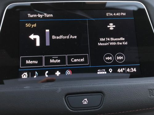 I tested a $52,000 Cadillac XT4 crossover SUV that used an old-school navigation system instead of digital maps - here's what it was like