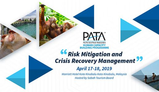PATA Risk Mitigation and Crisis Recovery Workshop in Sabah, Malaysia