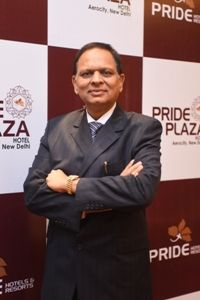 S.P. Jain, Managing Director of the Pride Group of Hotels awarded with the Indian Hospitality Leadership Award 2020