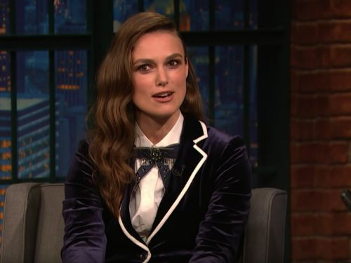 Keira Knightley says her prom photo was banned by her school because she kissed her gay date in it