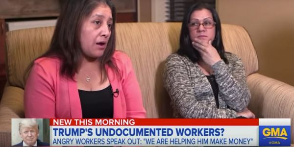 The unauthorized immigrant who makes Trump's bed at Bedminster and said she is 'tired of the abuse' has no idea whether she'll be deported
