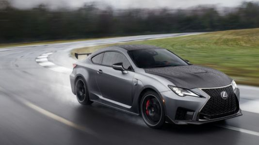 The 2020 Lexus RC-F Track Edition Adds Aero and Lightness