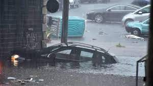 Flash flood with a powerful storm kills at least 2 people in Catania