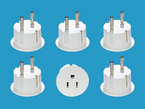 Why these dirt-cheap plug adapters should be a packing essential for trips to Europe