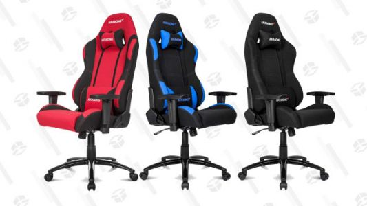 You Can Game Like Ninja with This Discounted AKRacing Gaming Chair