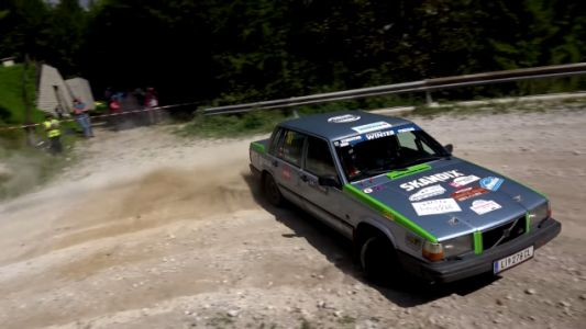 My Bank Account Would Prefer I Do Not Watch This Volvo 740 Rally Video