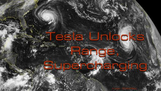 Tesla Unlocks Supercharging, Extra Capacity: Important Information For Electric Car Owners In The Path of Hurricane Florence