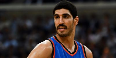 Thunder center Enes Kanter says his father has been arrested by the Turkish government