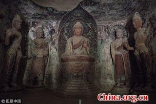 Mogao Caves to open at night in 2019