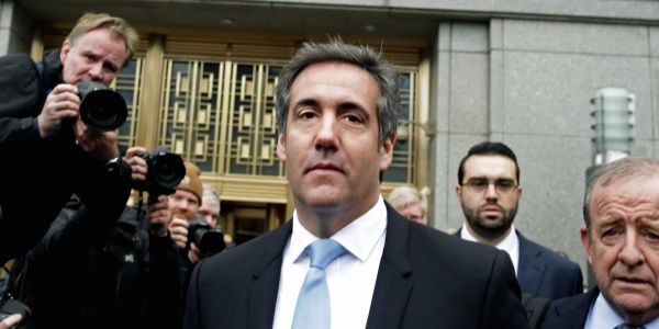 The man who leaked Michael Cohen's financial info did so because other information on Trump's lawyer mysteriously disappeared