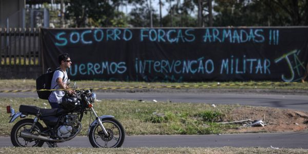 More and more Brazilians want the military to take over their country to fight crime and corruption
