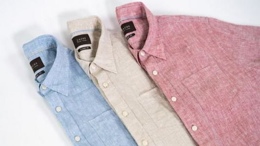 Keep Things Light & Breezy With $17 Linen Shirts From Jachs