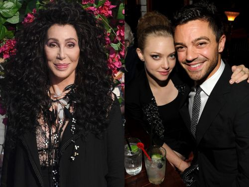 Cher weighed in on 'Mamma Mia!' co-stars Amanda Seyfried and Dominic Cooper's breakup - and it's hilarious