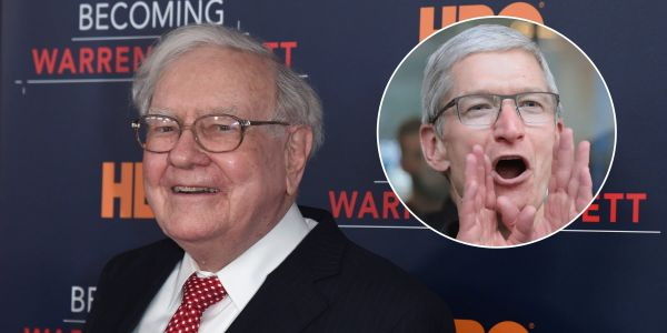Warren Buffett would love to own '100 percent' of Apple - and now he's the company's 2nd largest shareholder