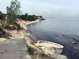 A tourism organization searches for a way out to Indiana shoreline erosion
