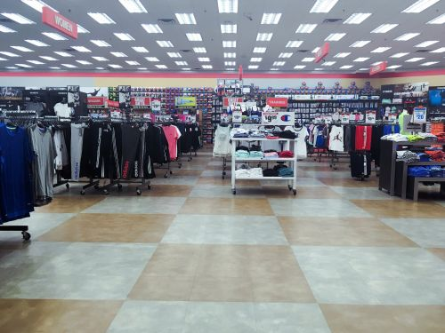 We shopping at Dick's and Modell's to see which was a better sporting-goods store, and there was a clear winner