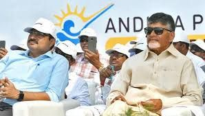 Andhra Chief Minister speaks about Amaravati and its potential for tourism development