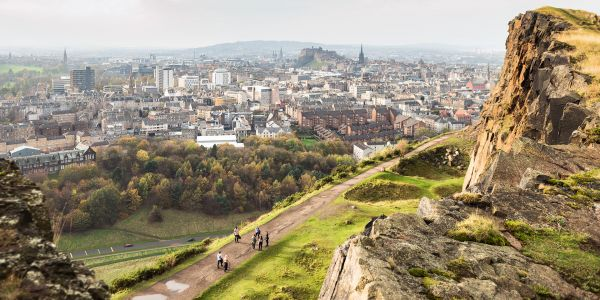 Going Wild in the Scottish Capital: Edinburgh's Spectacular and Historical Green Spaces
