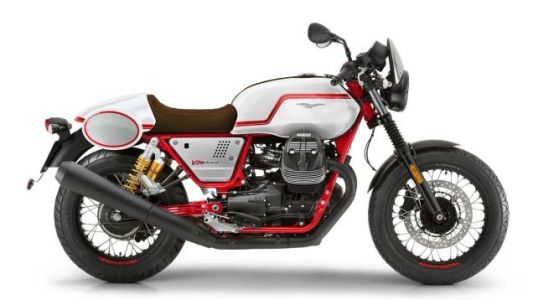 Moto Guzzi just unveiled the V7 III Racer Limited Edition for the U.S. and Canadian markets only