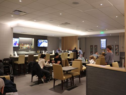 I just used my credit card perk that gets me into certain airport lounges for free for the first time, and discovered a huge drawback