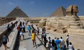 Egypt sees a 55% increase in international tourism