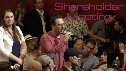 Tesla Annual Shareholder Meeting: The Important Bits