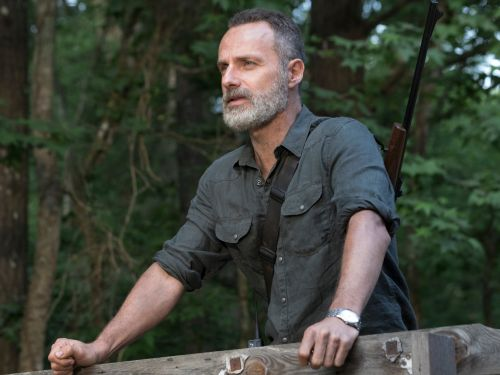 How 'The Walking Dead' star Andrew Lincoln snagged the role of Rick Grimes from another fan favorite