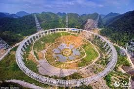 FAST - the world's largest telescope built by China