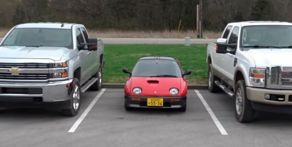 It's Impossible To Return A Fist Bump When You're In An Autozam AZ-1
